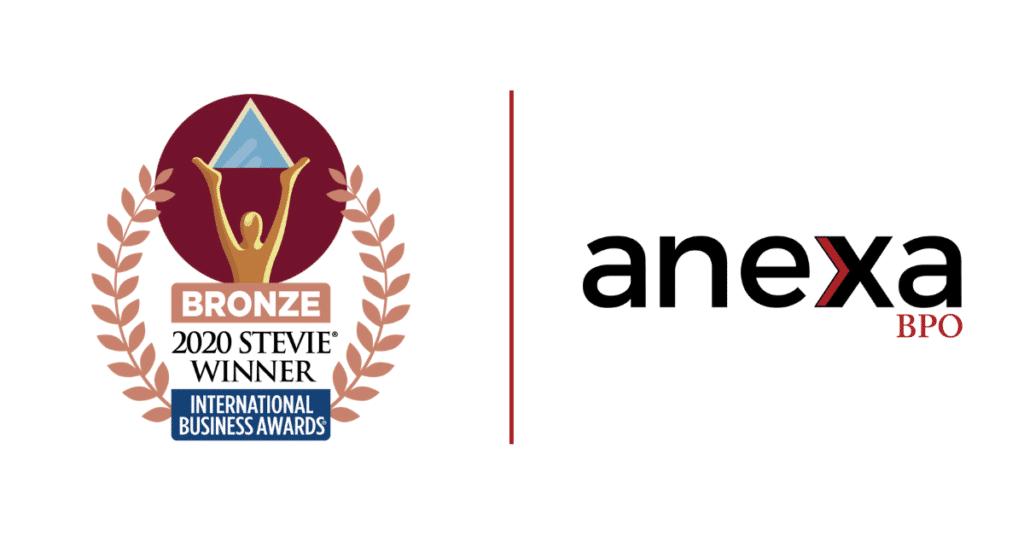 Anexa BPO Stevie Award